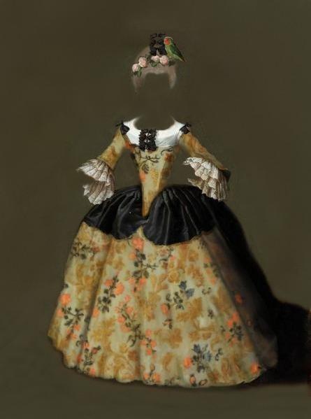 vestido de doña isabel3_Painting
